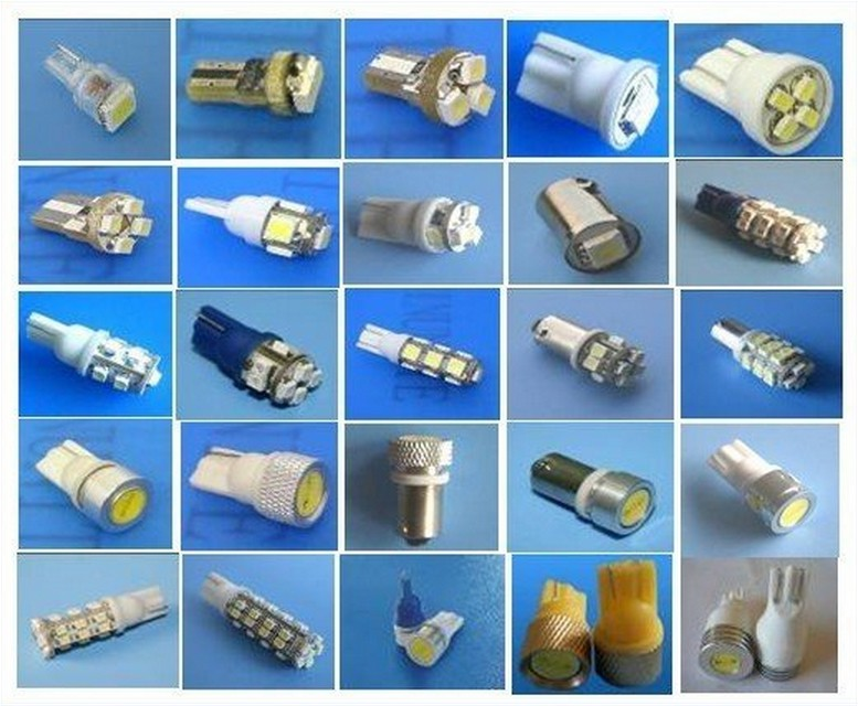 Led Bulb T10 1w High Power Hid Hid Lights Hid Bulb Hid